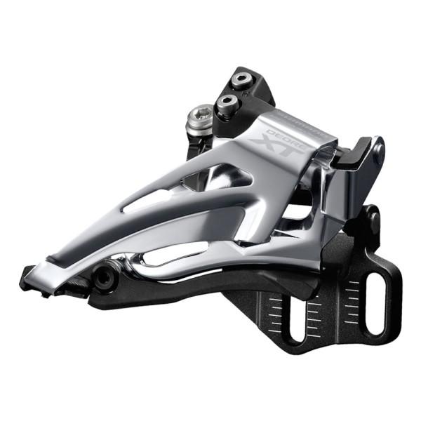Umwerfer Shimano Deore XT FD-M8025-E 66-69 E-TypeTop Swing Bottom Pull