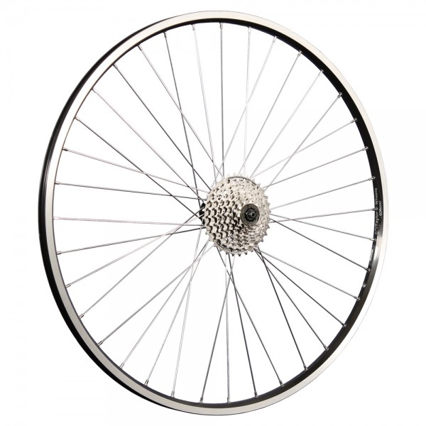 28 inch rear wheel double Shimano Tourney TX500 black
