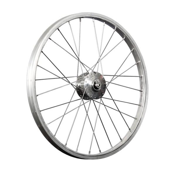 20 inch front wheel aluminum SON XS hub dynamo 74mm folding bike Dahon, Tern silver