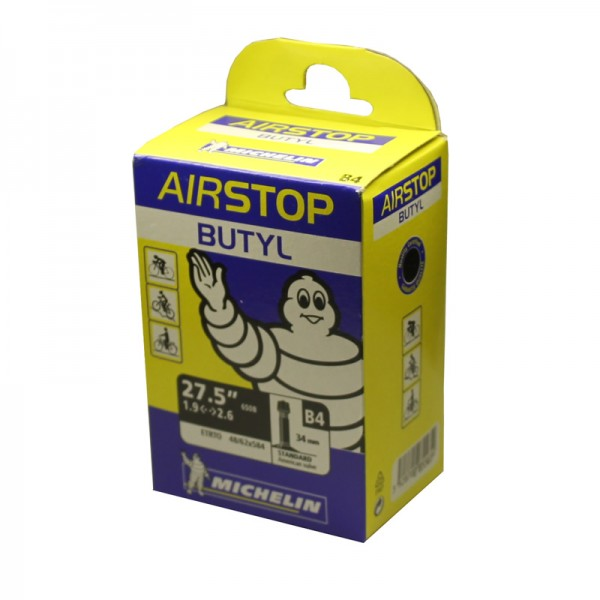 27.5 inch binnenband Airstop B4 Dunlop DV 48-62 Mountainbike