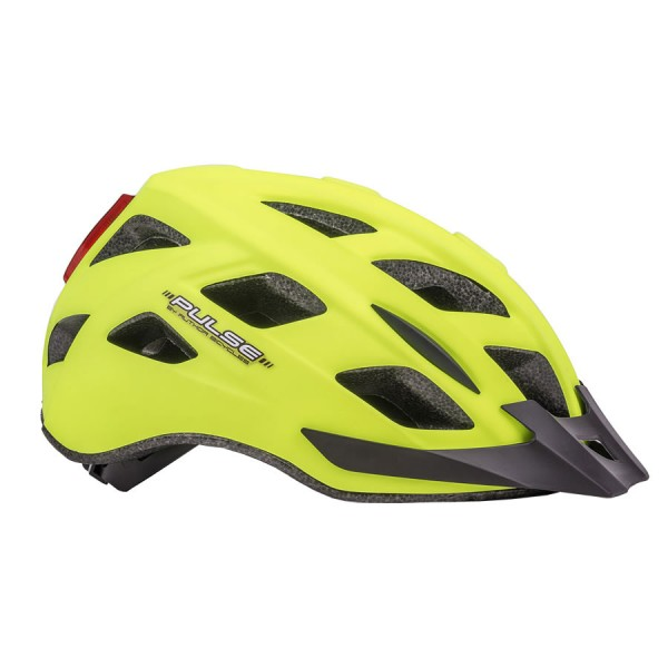 Bicycle helmet Pulse LED inmold Size M 52cm-58cm Dial-Fit neon-yellow