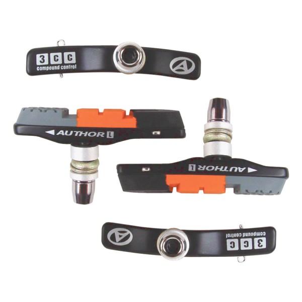 Fiets remblokken ABS-3CC Cartridge V-Brake 4 remblokken set