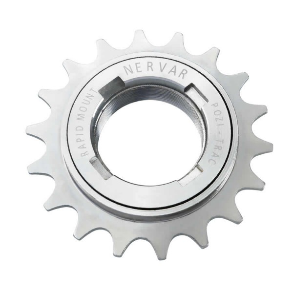freewheel singlespeed sprocket for BMX 18 teeth silver