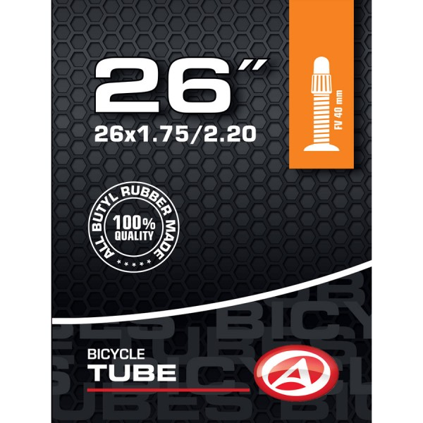 Bicycle tube 26 inch SV Presta valve 40mm 47/55-599 for MTB ATB