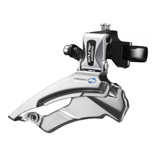 Umwerfer Shimano Altus FD-M313 3x7 3x8 66-69 Klemme 34,9mm Downswing Dual Pull