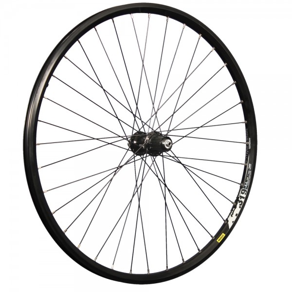 27.5 inch rear wheel Mavic XM 319 double wall rim eyelet Shimano XT M8000 Disc